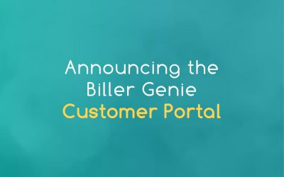 Announcing the Biller Genie Customer Portal